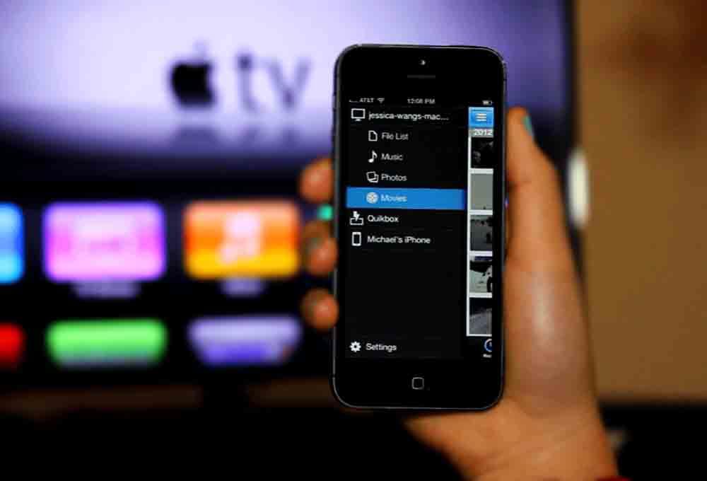 télévision sur iPhone
