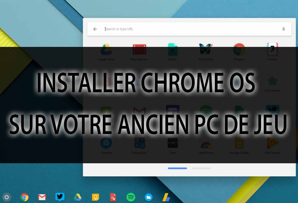 Installer Chrome OS