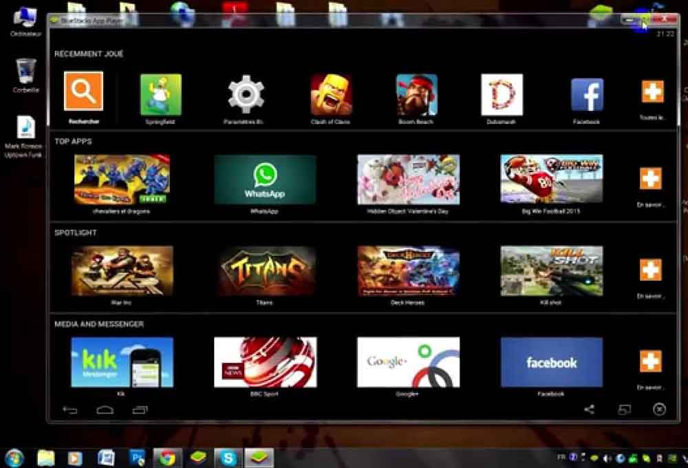 jouer à des jeux Android sur PC