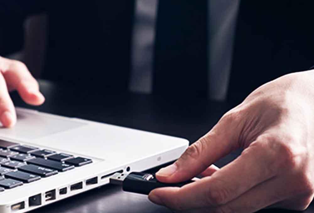 réparer une clé USB