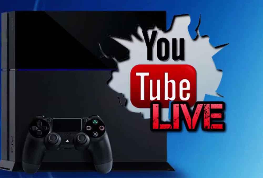 live vidéo sur ps4