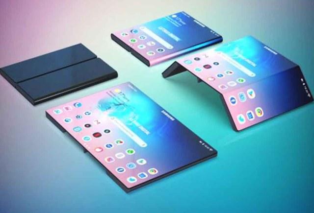 tablette pliable Samsung