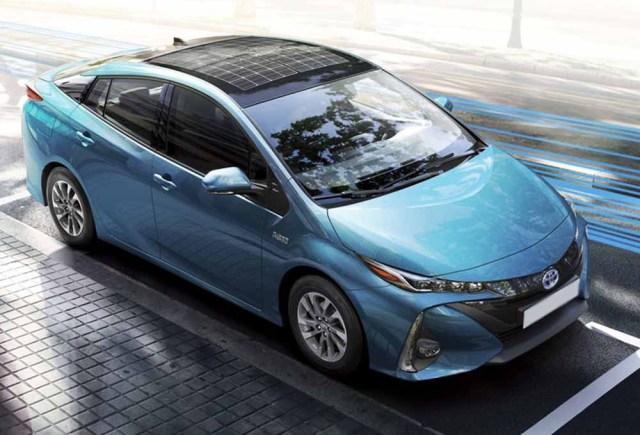 voiture électrique Toyota