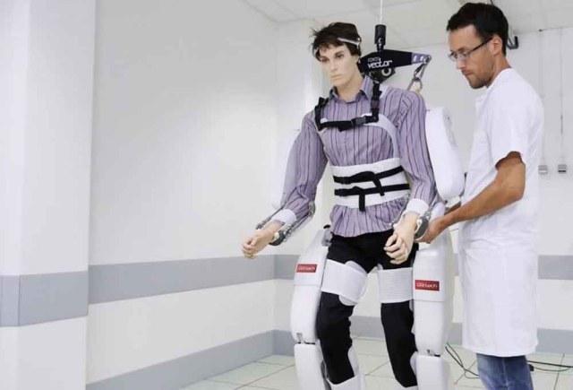 exosquelette High-tech