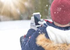 Smartphone et ski : incompatibles ?