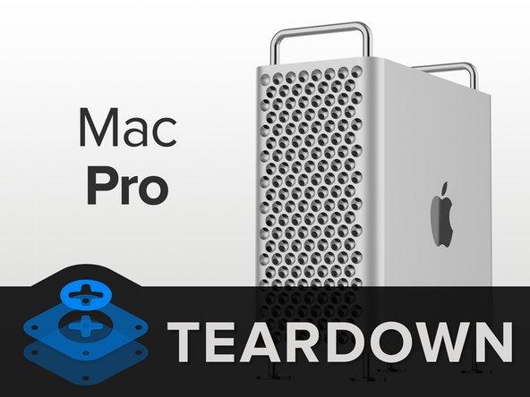 mac pro 2019 teardown ifixit