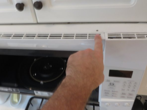 ge profile microwave oven touchpad