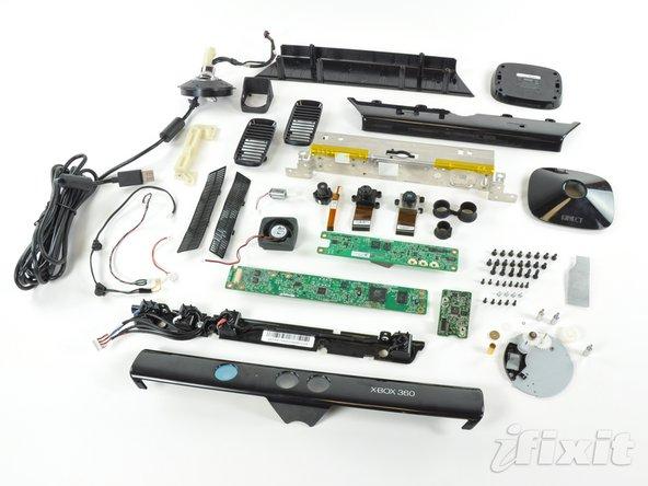 Kinect desensamblado