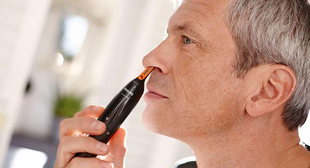 come eliminare peli dal naso
