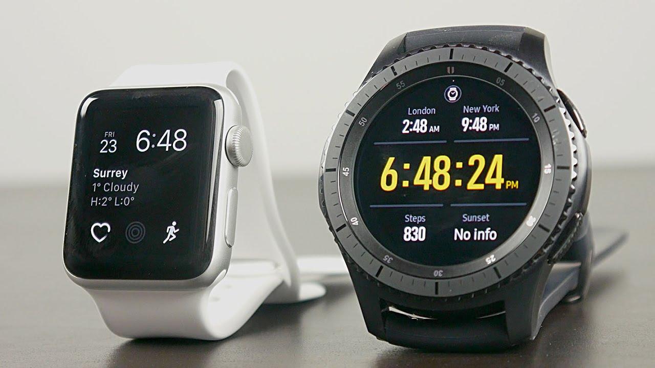 apple watch contro samsung gear s3
