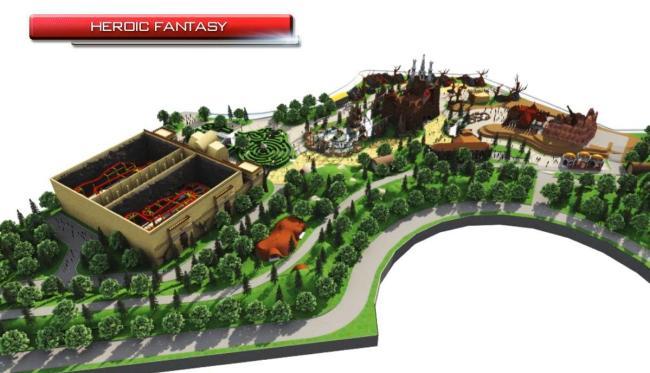 fantasy heroic land