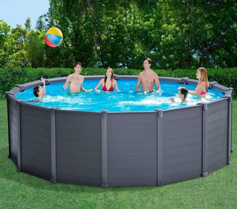 piscine graphite intex ronde 4m78 x 1m24 avis 28382 accessoires