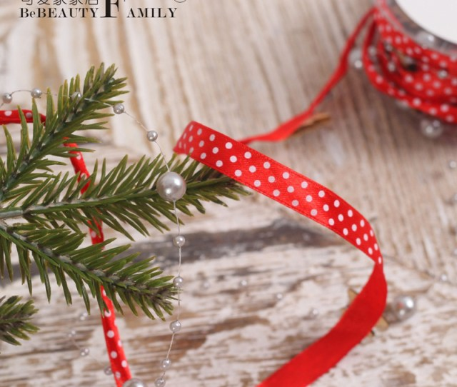 Get Quotations  C B Lovely Home For Christmas Decorations Red Polka Dot Christmas Tree Christmas Tree Decorations Christmas Ribbon Gift