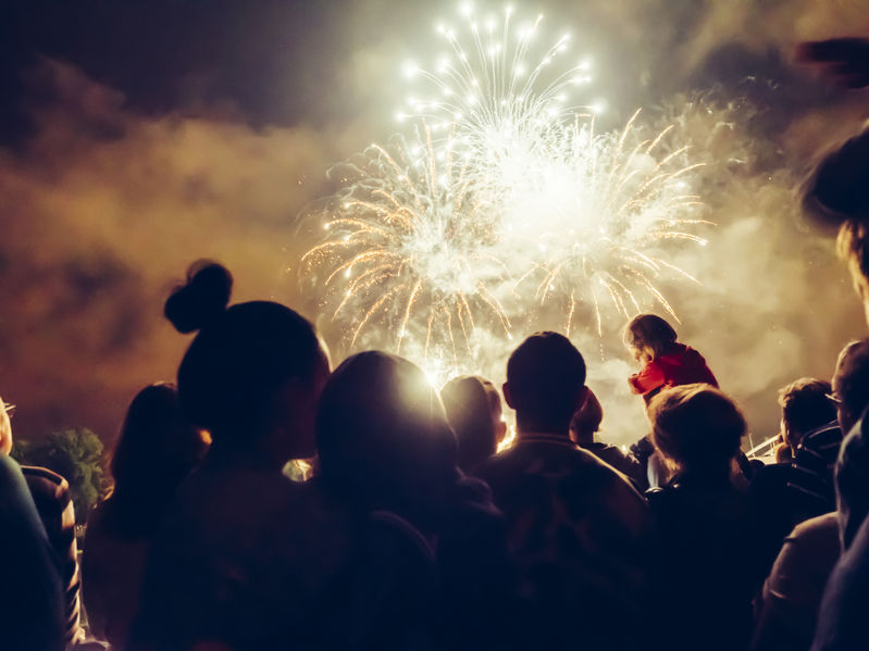 Marco Island Fireworks for 4th of July
