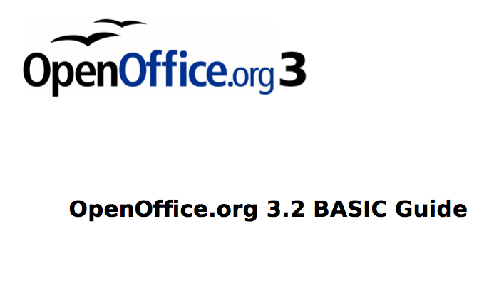 OpenOffice org 3 2 – Guide to Programming in OOo Basic [How