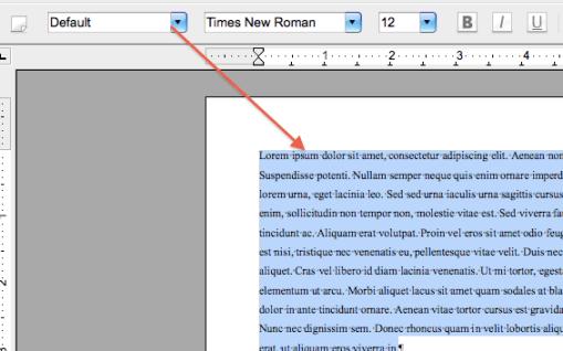 change default settings in word 2010 line spacing