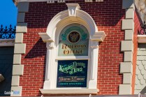 Walt Disney Main Street Window - Walt Disney World Railroad - Magic Kingdom Attraction