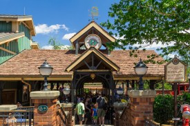 Fantasyland Station Entrance - Walt Disney World Railroad - Magic Kingdom Attraction
