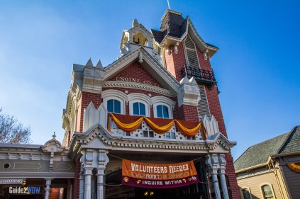Firehouse - Sorcerers of the Magic-Kingdom - Disney World Attraction