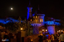 Eric's Castle at Night - Journey of the Little Mermaid - Magic Kingdom Attraction