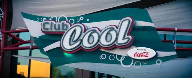 Club Cool - Free Coke Samples at Disney World