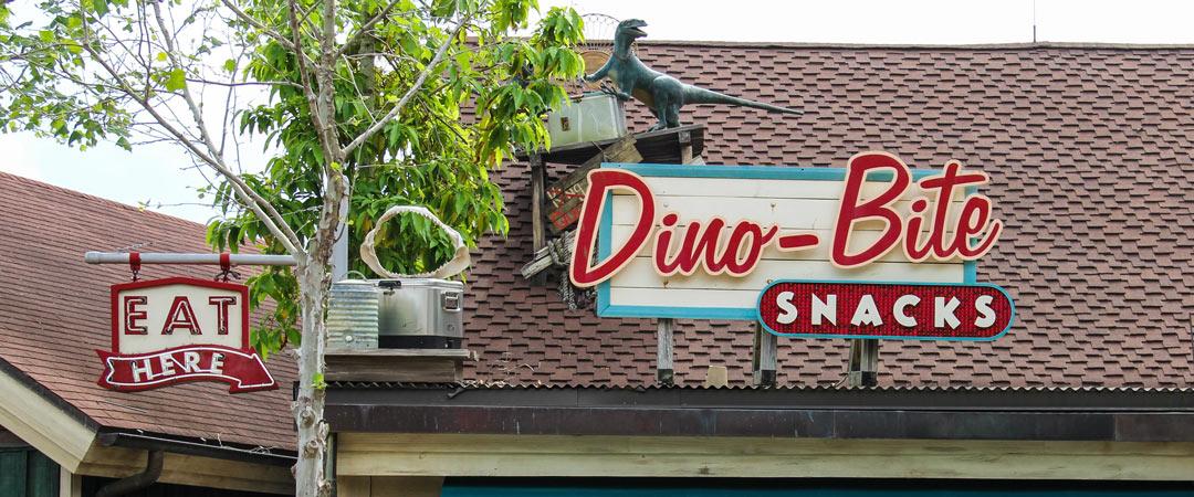 Dino Bite Snacks Animal Kingdom Dining