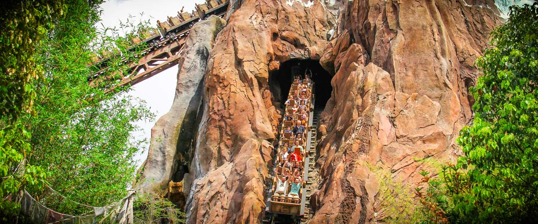 Expedition Everest - Disney World Roller Coaster