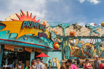 Primeval Whirl - Animal Kingdom Attraction