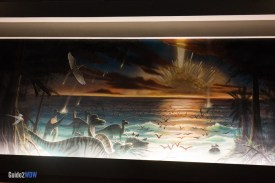Extinction Mural - Dinosaur - Animal Kingdom Attraction
