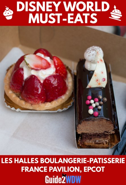 Desserts at Les Halles Boulangerie & Patisserie - Disney World Must Eats