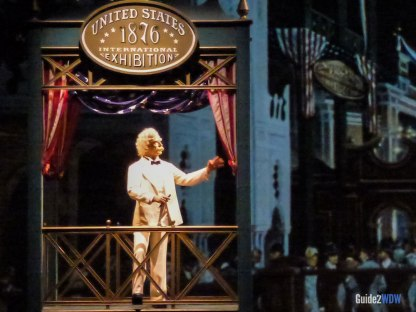 Mark Twain - American Adventure - Epcot Attraction
