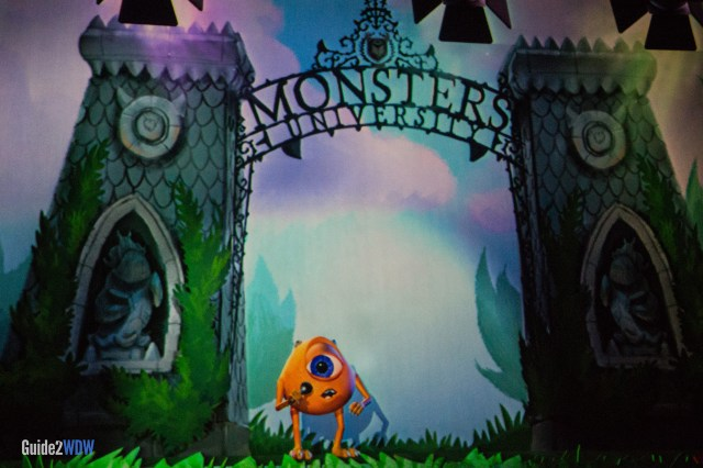 Mike's Nephew - Monsters Inc Laugh Floor - Magic Kingdom Attraction