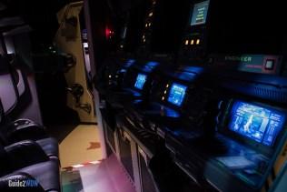 Mission: SPACE Cockpit - Epcot Attraction