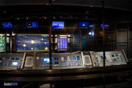 Mission: SPACE Queue - Epcot Attraction