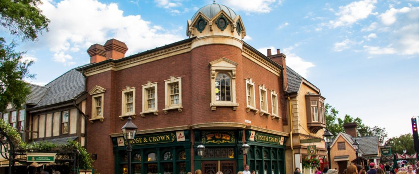 Rose and Crown - Epcot's United Kingdom Pavilion - WDW Dining