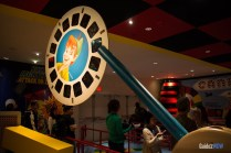 Queue - Toy Story Midway Mania - Hollywood Studios Attraction