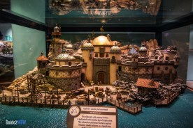 Tokyo DisneySea Model - Walt Disney One Mans Dream - Hollywood Studios Attraction
