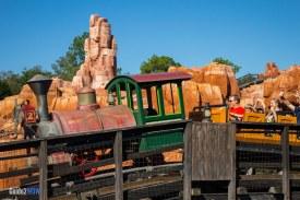 Big Thunder Mountain Railroad - Train - Magic Kingdom Attraction