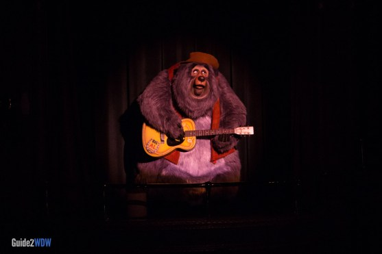 Country Bear Jamboree - Big Al - Magic Kingdom Attraction