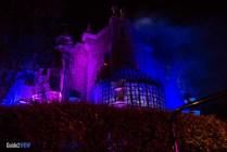 Haunted Mansion - Night - Magic Kingdom Attraction