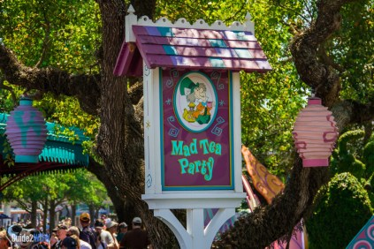 Mad Tea Party - Sign - Magic Kingdom Attraction