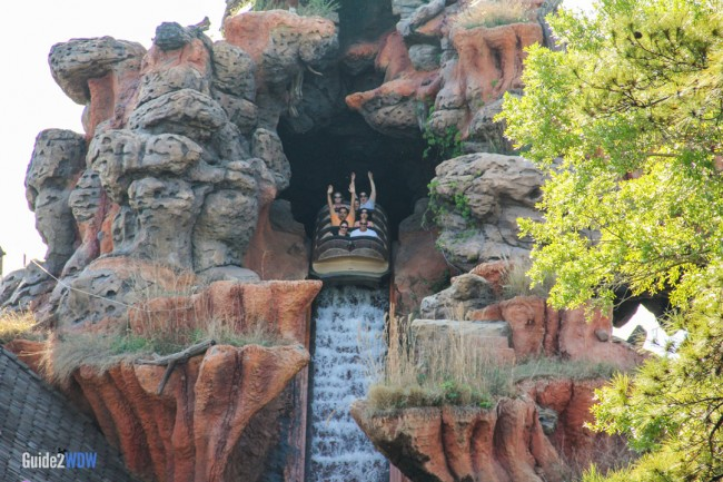 Splash Mountain - Drop- Disney World