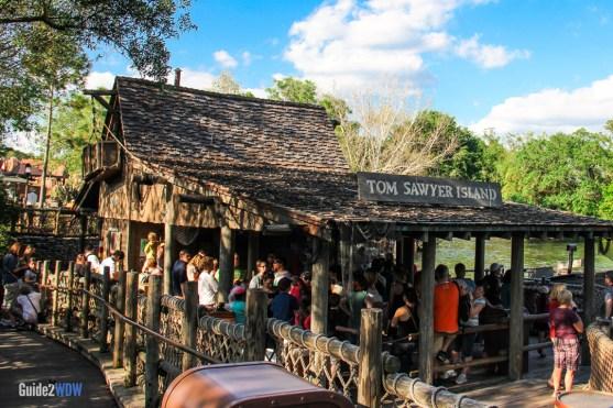 Tom Sawyer Island - Magic Kingdom Attraction
