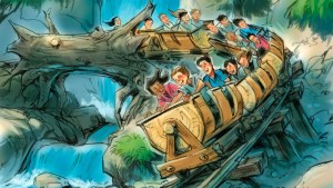 Seven Dwarfs Mine Train Concept Art - Disney World