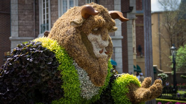 Beast Topiari - Epcot Flower and Garden Festival