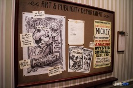 Concept Art for Mickey the Magician - Disney World