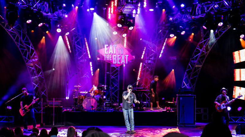 Smash Mouth - Eat to the Beat Epcot Food and Wine Festival