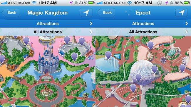 First impressions disney parks mobile magic app for iphone provides first impressions disney parks mobile magic app for iphone provides accurate wait times may mercilessly destroy your battery guide2wdw gumiabroncs Image collections
