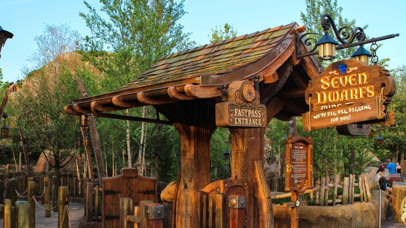 Seven Dwarfs Mine Train - Walt Disney World