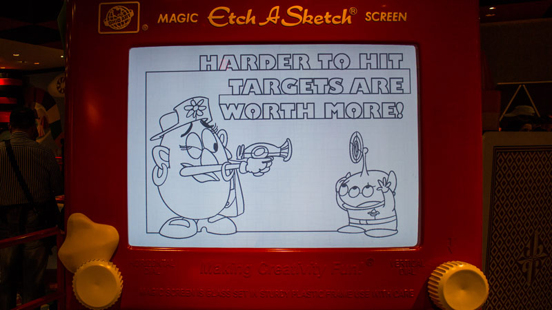The secrets to getting a high score in Toy Story Midway Mania
